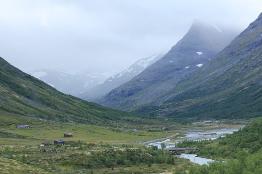 op weg naar onze 3de hut 210 km verderop